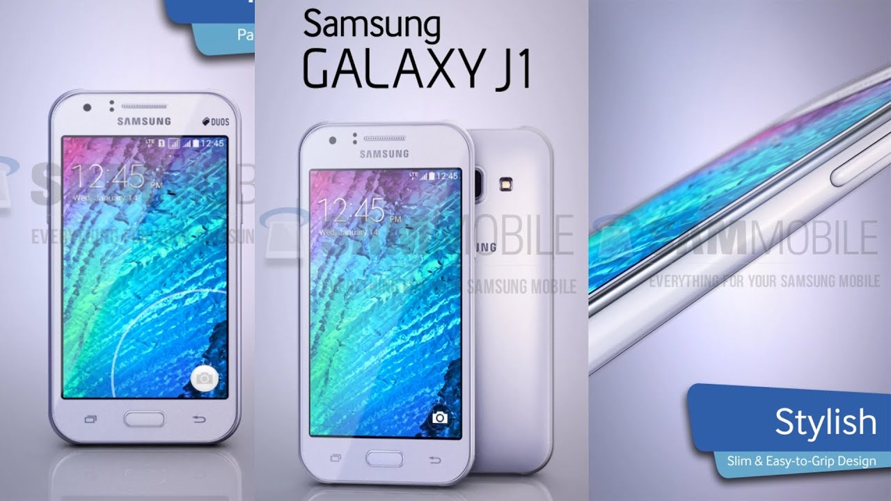 NEW Samsung Galaxy J1 Cheap 64-bit Quad-Core Phone 2015! - YouTube