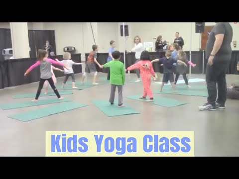Kids Yoga Class at Health and Fitness Expo by Go Go Yoga for Kids