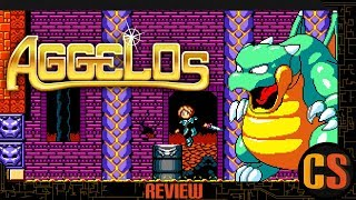 AGGELOS - PS4 REVIEW (Video Game Video Review)