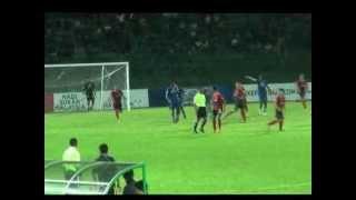 Malaysian Super League (Sarawak vs Lion XII FC) - replay back handball