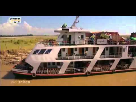 ✪✪ ★ Myanmar - eine Reise auf dem Irrawaddy nach Mandalay ★ (Doku 2014) ✪✪
