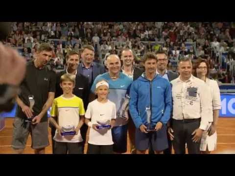 Agassi Ivanisevic Ferrero Exhibition Umag 2016