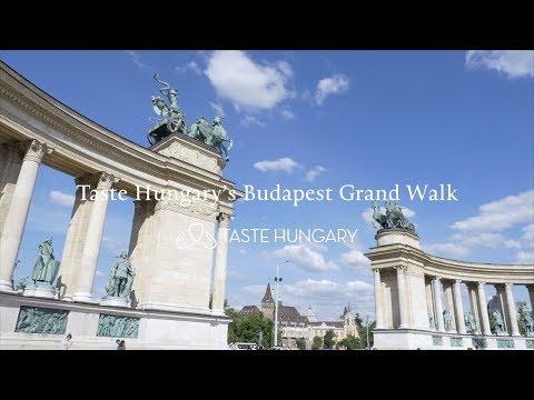 "Taste Hungary's ""Budapest Grand Walk"""