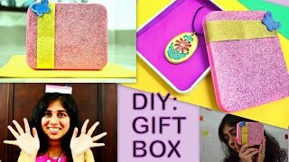 DIY:Best out of waste:Gift Box