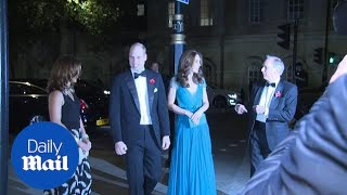 Prince William and Kate arrive at Tusk Conservation Awards