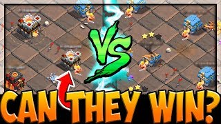 CAN THEY WIN? Facing Higher Town Halls in Clash of Clans Clan War League