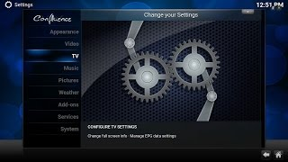 How to integrate live TV with Kodi