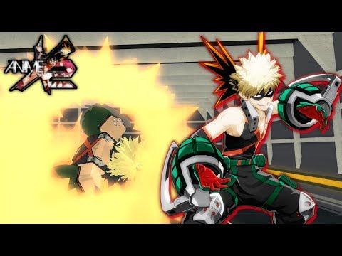 คาเนก เคน Roblox Anime Cross 2 Explosions Katsuki Bakugo In Anime Cross 2 Roblox Youtube
