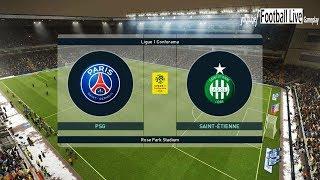 PES 2019 | PSG vs Saint Etienne | Neymar, Mbappe, Cavani Amazing Goals | Gameplay PC