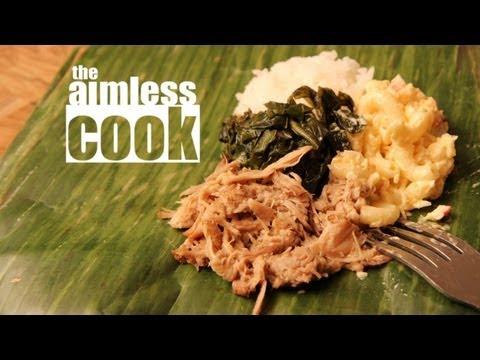 Kalua Pork Recipe - Hawaiian Mix Plate Tribute