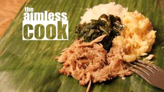 Kalua Pork Recipe - Hawaiian Mix Plate Tribute