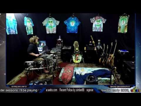Steve Winwood-Higher Love Drum Jam on Twitch