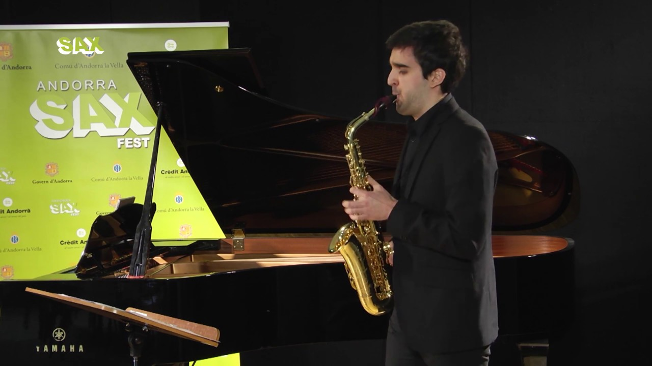 CARLOS ZARAGOZA - 1st ROUND - V ANDORRA INTERNATIONAL SAXOPHONE COMPETITION 2018