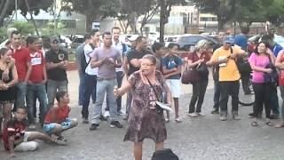repentistas teresinha e roque  em Taguatinga Brasilia