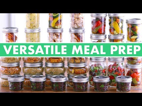 5 Meal Prep Dinners  DIFFERENT Healthy Meals Every Day!  Mind Over Munch