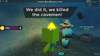 roblox time travel adventures sub zero cavemen ending