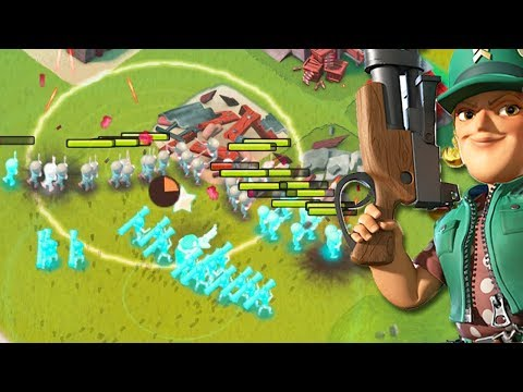 Testing Iron Will on my Low Level account in Boom Beach! (Starting Over #12)