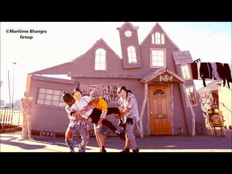 Halloween Zombie Bhangra || Cause- Blood Cancer || Maritime Bhangra Group || Nova Scotia, Canada