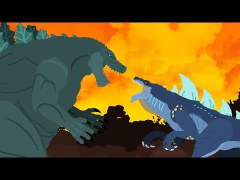 Godzilla Earth vs Zilla Jr  DinoMania  Godzilla Cartoons  NEW Episode