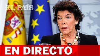 DIRECTO | Rueda de prensa tras el CONSEJO DE MINISTROS