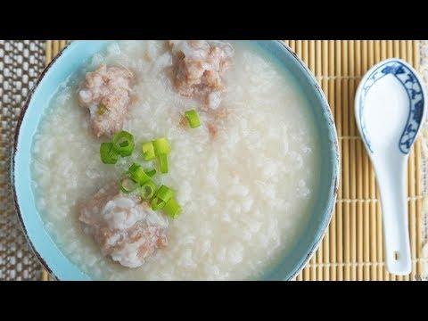 How To Make Pork Congee