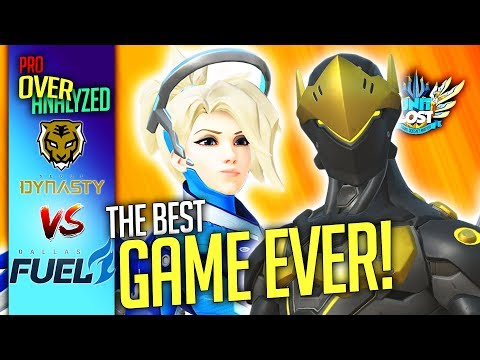 Overwatch - The GREATEST Game EVER! Seoul Dynasty Vs Dallas Fuel [Pro OverAnalyzed]