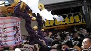 三社祭2010一ノ宮 千束通 浅草中町会2
