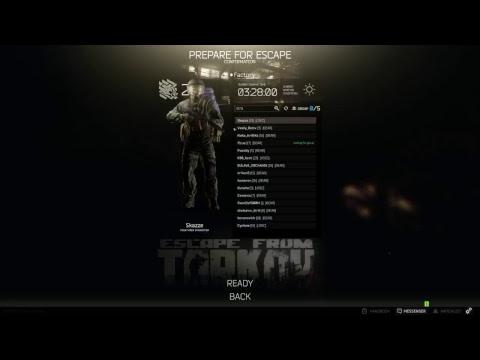 Killnine Godmode Hacker Escape from tarkov ff to 46:00