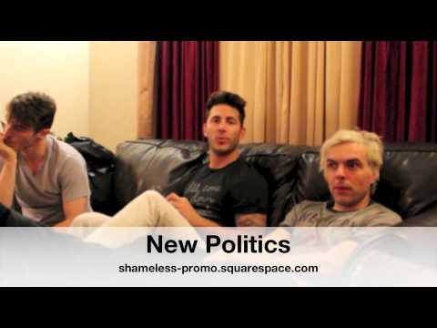 New Politics Interview - Shameless Promotions & Photography