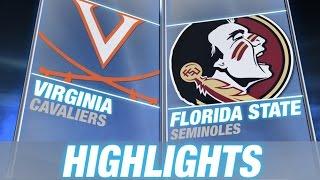 Virginia vs Florida State | 2014 ACC Football Highlights