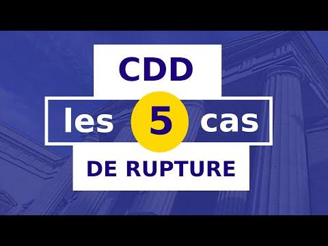 QUAND ROMPRE UN CDD ? __#12