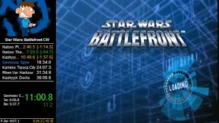 Star Wars: Battlefront Speedrun Clone Wars in 36:12 (Former World Record)
