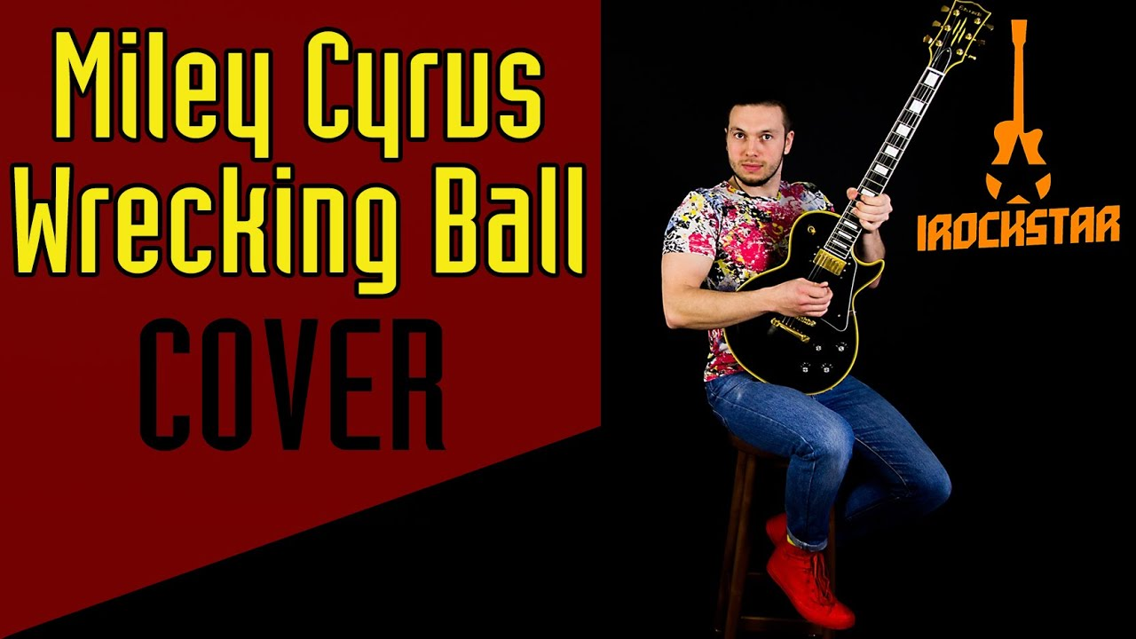 miley cyrus wrecking ball amazing acoustic cover by dmitriy
