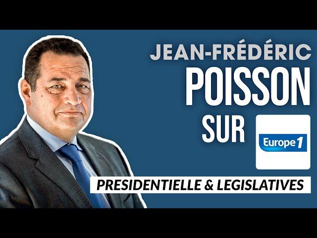 Jean-Frédéric Poisson sera au cœur des législatives avec Éric Zemmour | Europe 1 - 11 oct. 2021