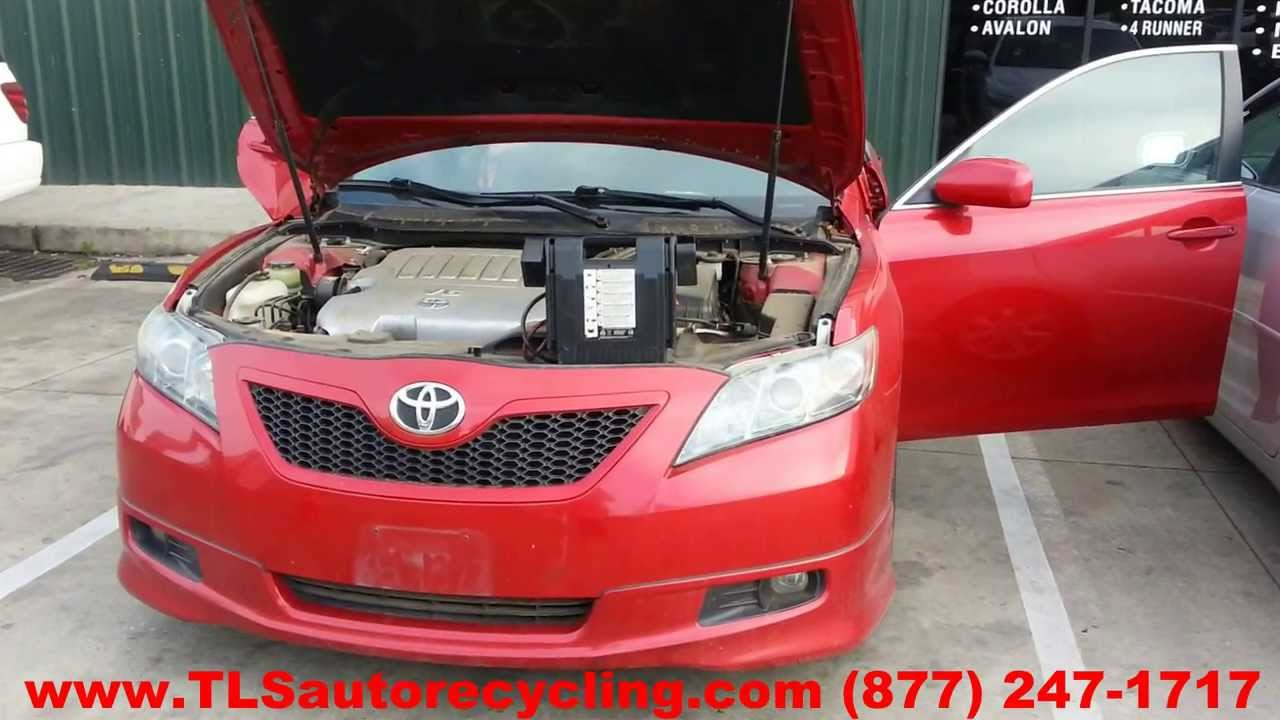 2014 Toyota Camry For Sale >> Toyota Camry SE 2009 Car For Parts - YouTube