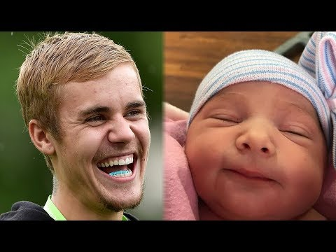 Justin Bieber Shares Adorable Photos of NEW Baby Sister