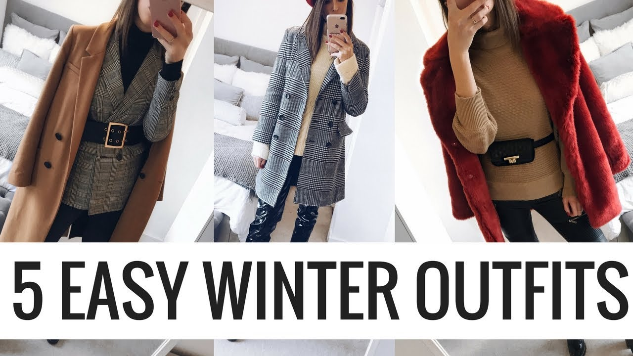 [VIDEO] - 5 EASY WINTER OUTFITS ❄️ CHATTY HIGHSTREET LOOKBOOK ❄️ CIARA O DOHERTY 2