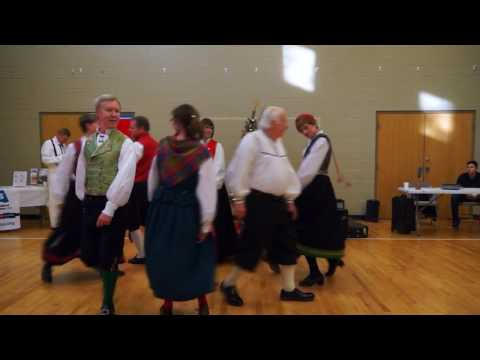 Norwegian Folk Dance - Korsdans Fra Valdres
