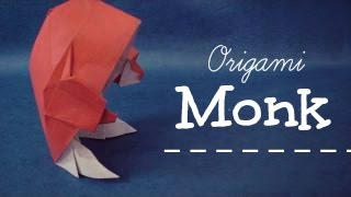 Origami Monk Instructions (nicolas Terry)