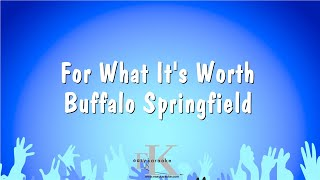 For What It's Worth - Buffalo Springfield (Karaoke Version)