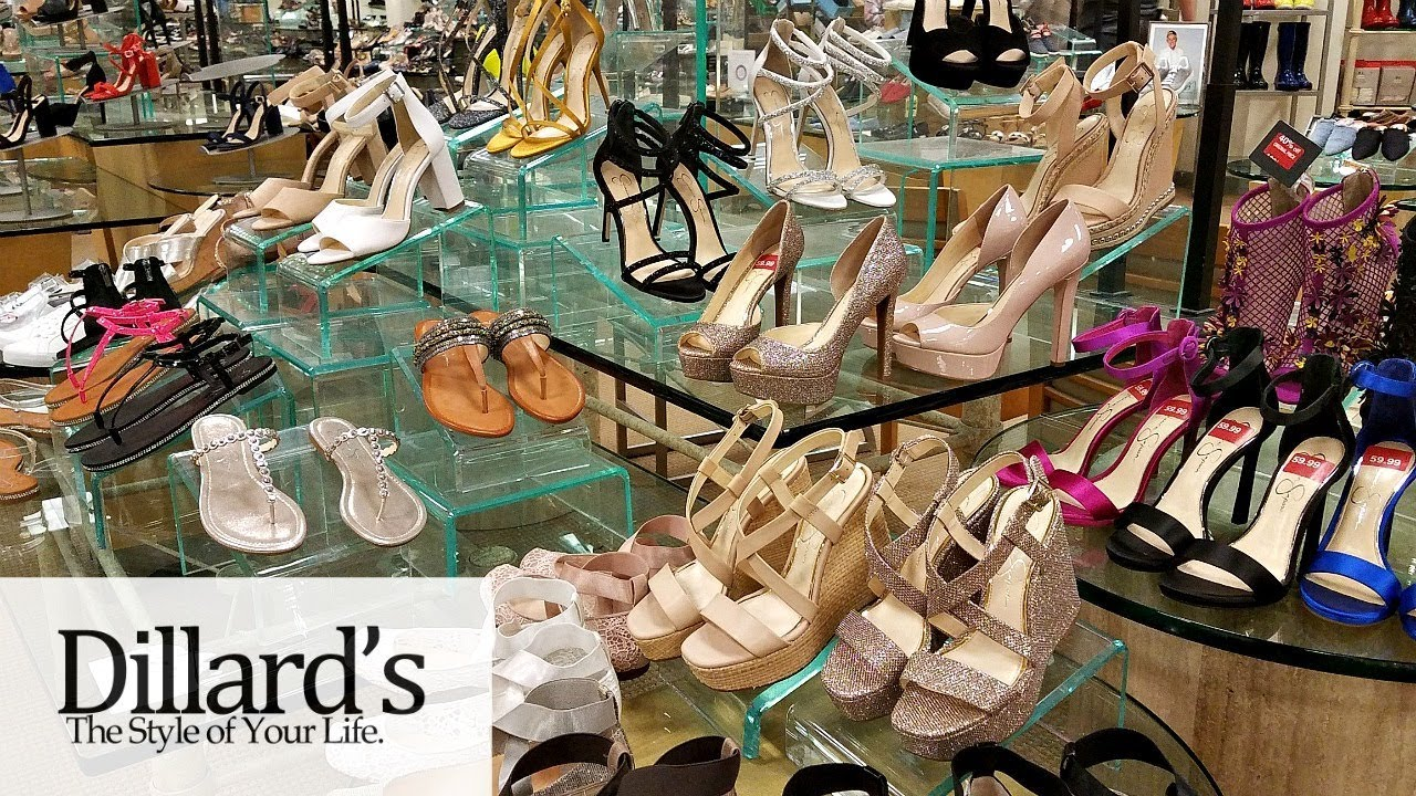 aad7566ba9f Dillards SHOES SHOP WITH ME HEELS WEDGES ALDO SNEAKERS WALK THROUGH JUNE  2018