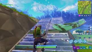 Fortnite battle royale game clip