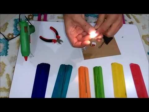 Milli Proje Ödevimiz Basit Elektrik Devresinden Gece Lambası Yapımı BAK Diyoruz!