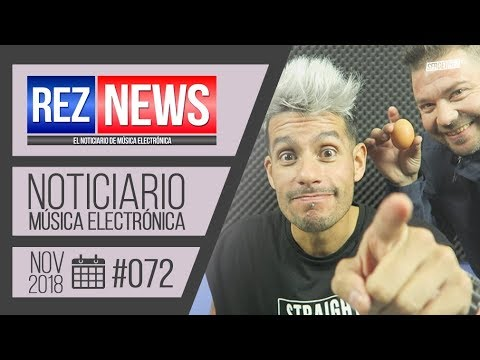 REZ NEWS [02.NOV.2018] Noticiario música electrónica #072 [+huevo🥚] - 동영상