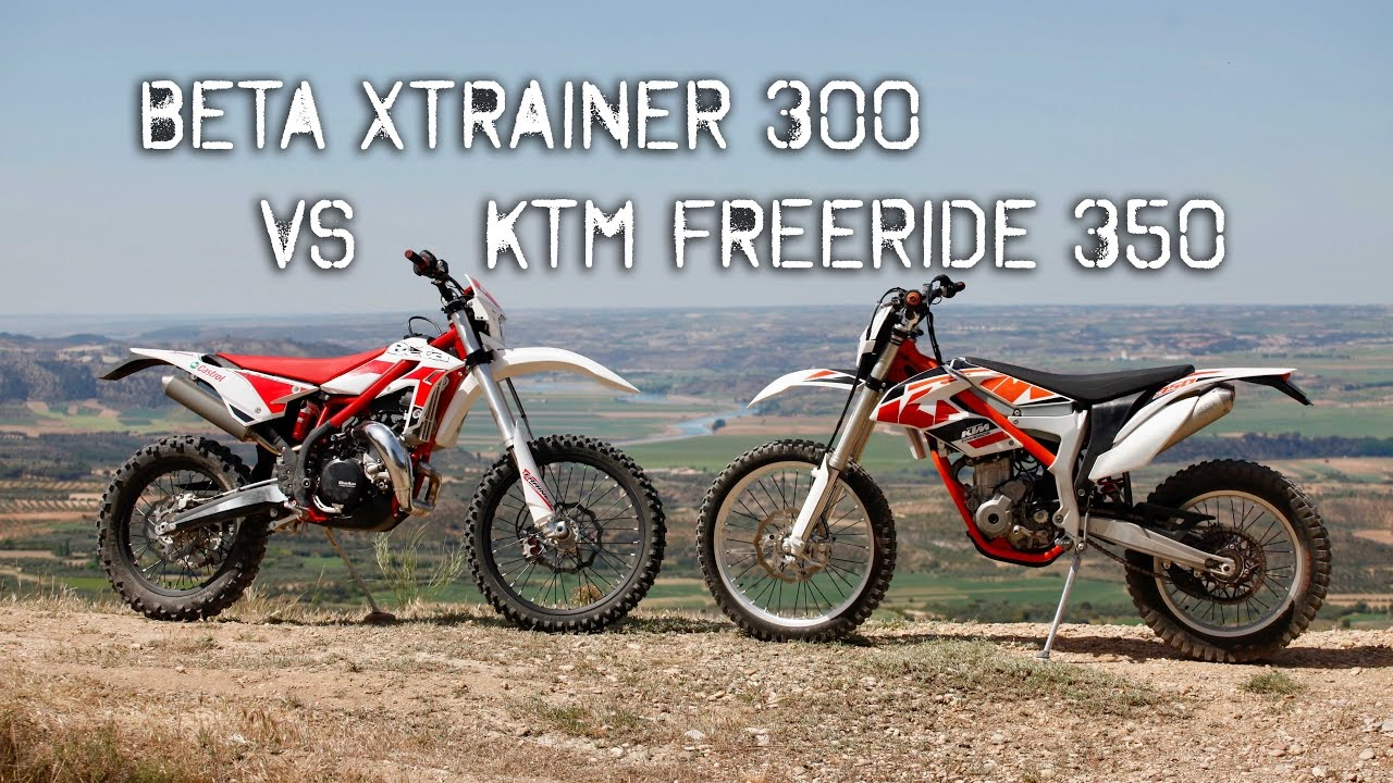Beta Xtrainer Vs Ktm Freeride