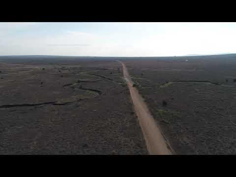 4K Aerial Drone view of Pre Konza Techno City development / construction and internal gravel roads.