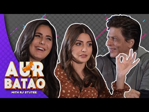 When Shah Rukh Khan asked Katrina out on a date II ZERO INTERVIEW II AUR BATAO