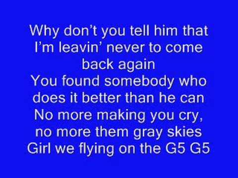 Leavin' - Jesse McCartney with Lyrics!