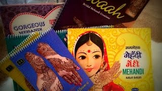My Henna Design Book Collection | Professional Henna Artist | freehandmehndi