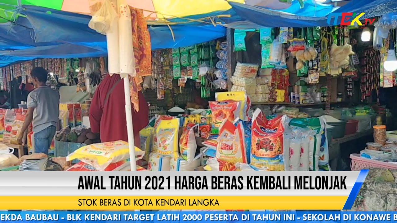 Awal Tahun 2021 Harga Beras Kembali Melonjak